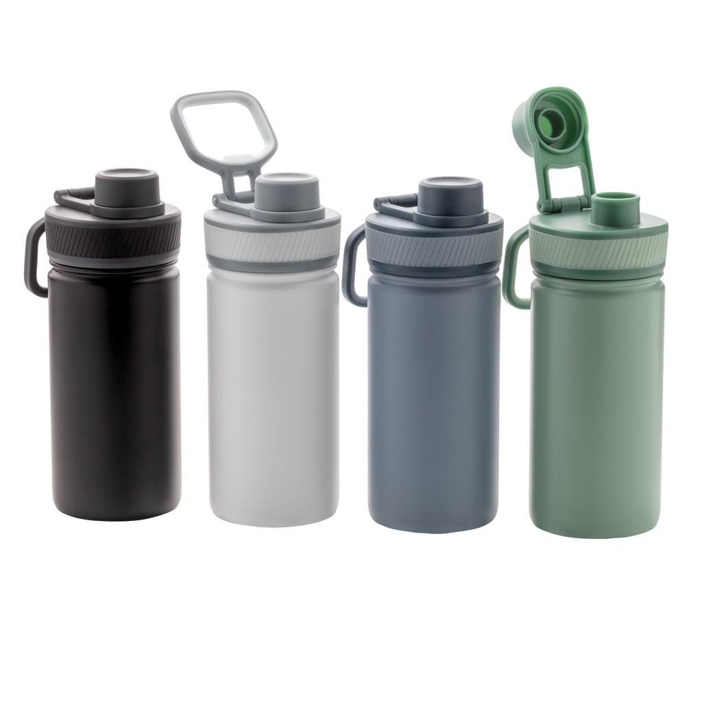 Vacuüm roestvrijstalen fles met sportdop 550ml, View 9