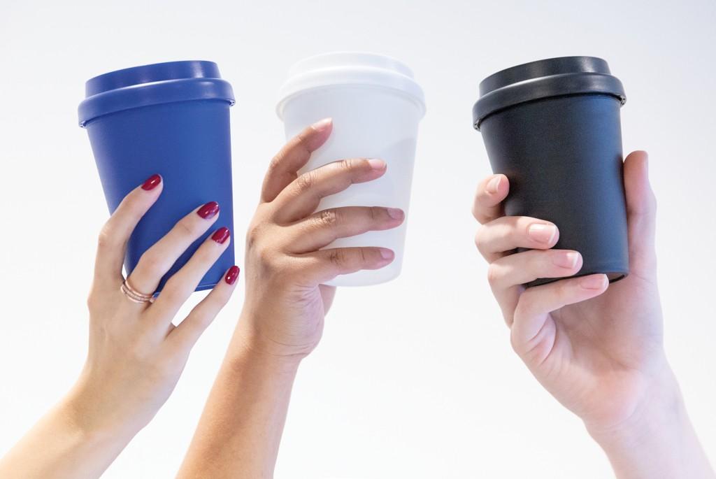 Herbruikbare dubbelwandige koffiebeker 300ml, View 8