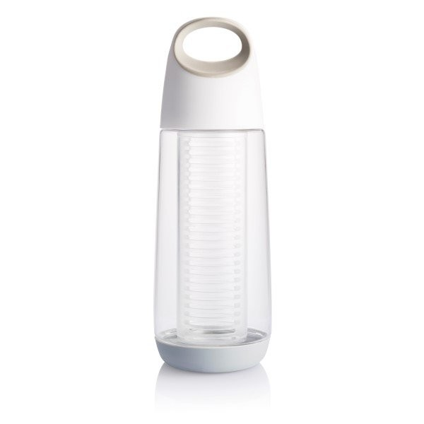 Bopp waterfles met infuser, wit/grijs, View 7