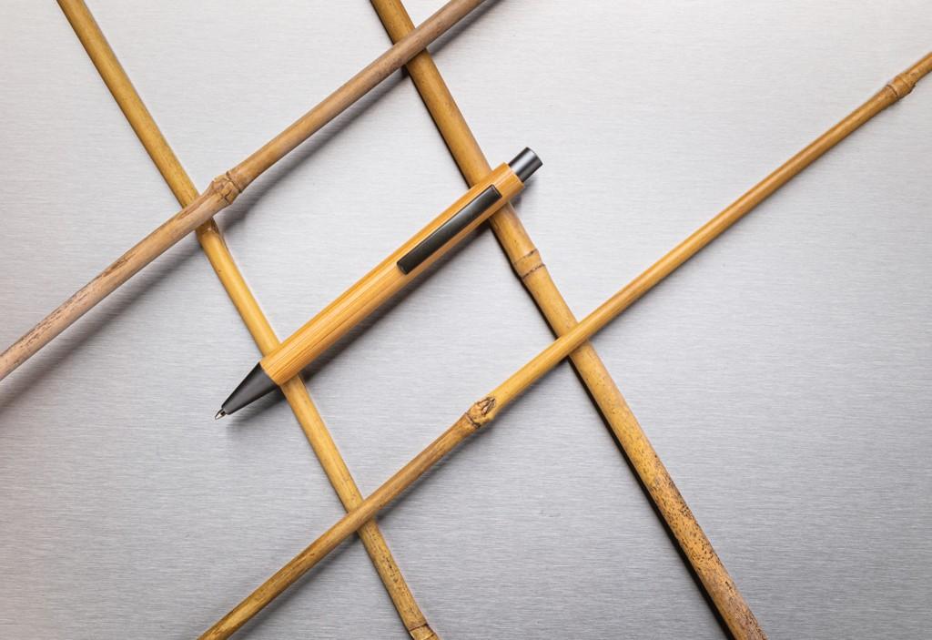 Slim design bamboe pen, View 4