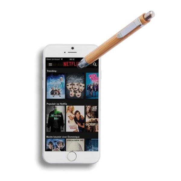 Bamboe touchscreen pen, bruin, View 13