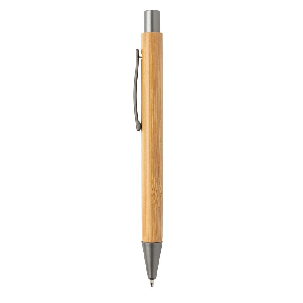 Slim design bamboe pen