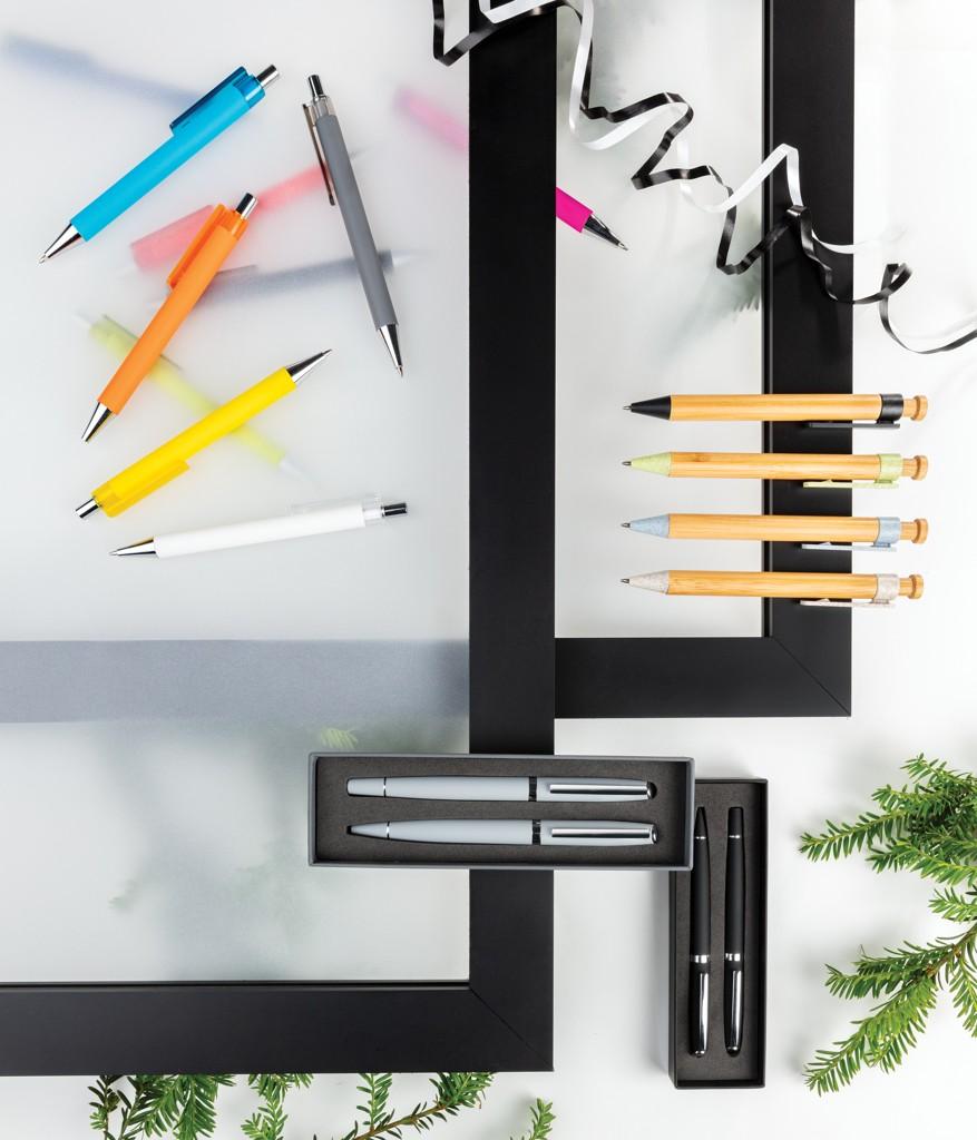 Bamboe pen met tarwestro clip, View 6