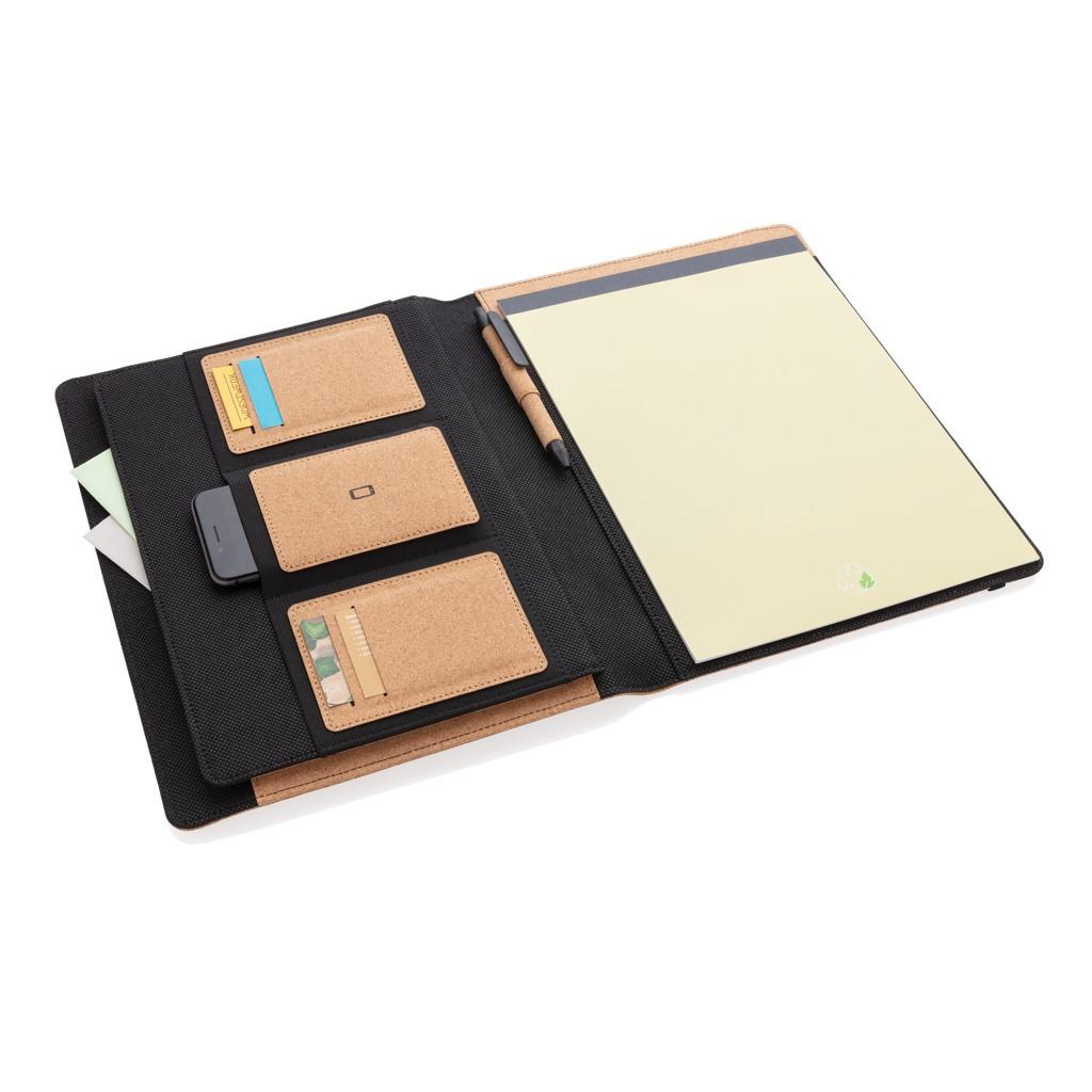 Deluxe kurken A4 portfolio met pen, View 6