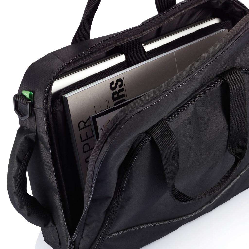 Florida laptop tas/rugtas, zwart, View 14