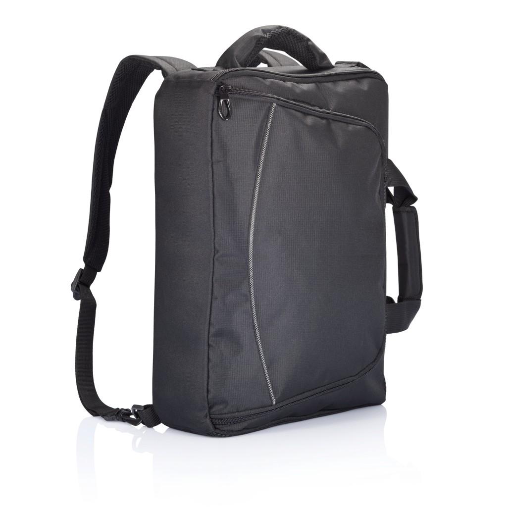 Florida laptop tas/rugtas, zwart, View 9