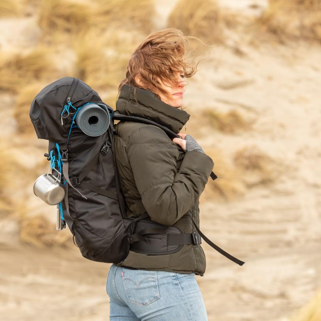 Explorer ribstop grote wandelrugzak PVC-vrij, View 11