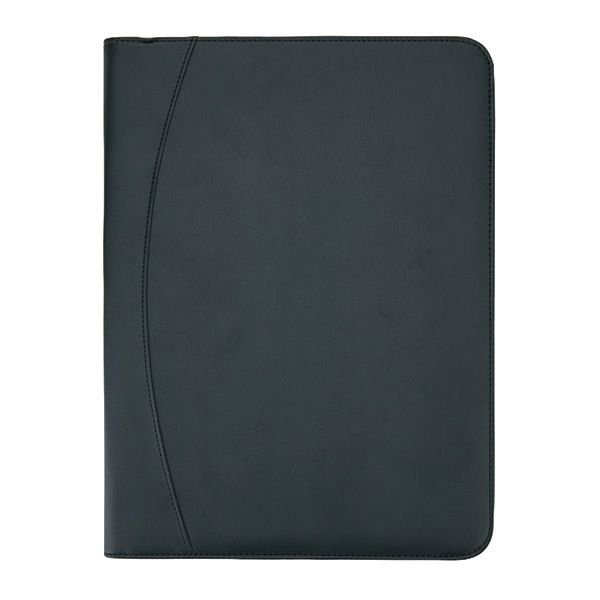 Essential tech portfolio met rits, zwart, View 3
