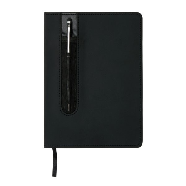 Deluxe A5 notitieboek met stylus pen, View 5