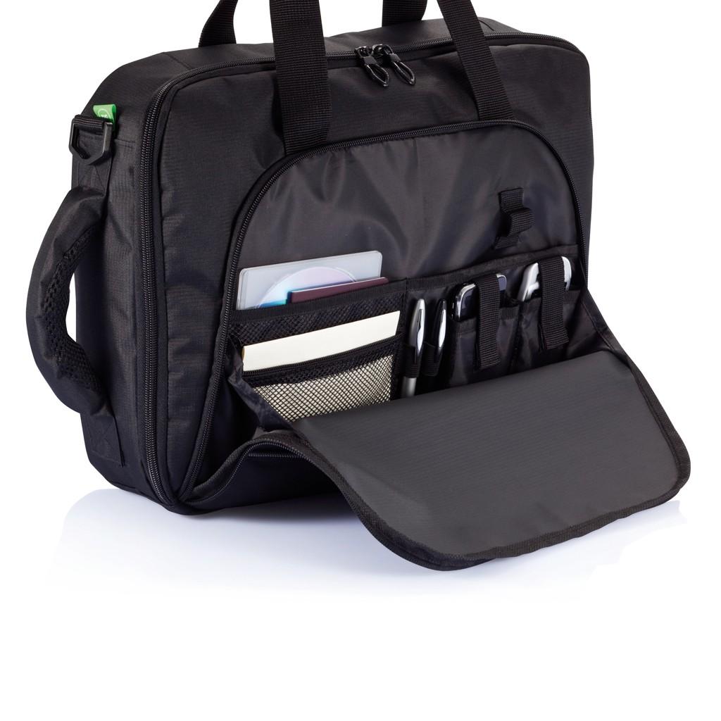 Florida laptop tas/rugtas, zwart, View 13