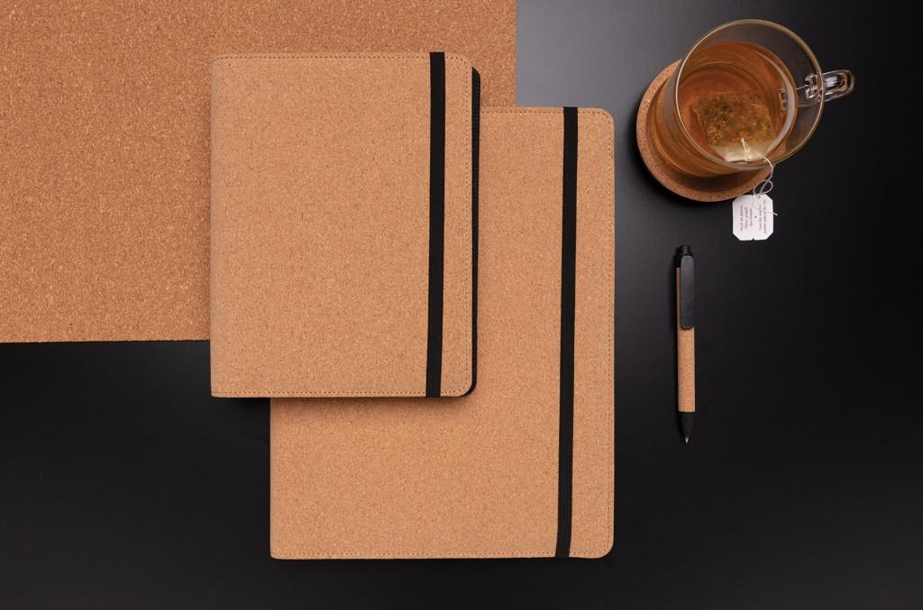 Deluxe kurken A5 portfolio met pen, View 11
