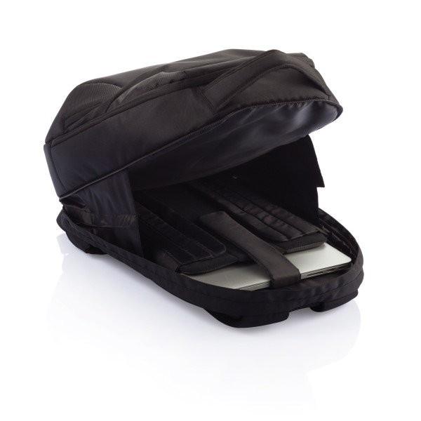 PVC vrije universele laptop rugtas, zwart, View 11