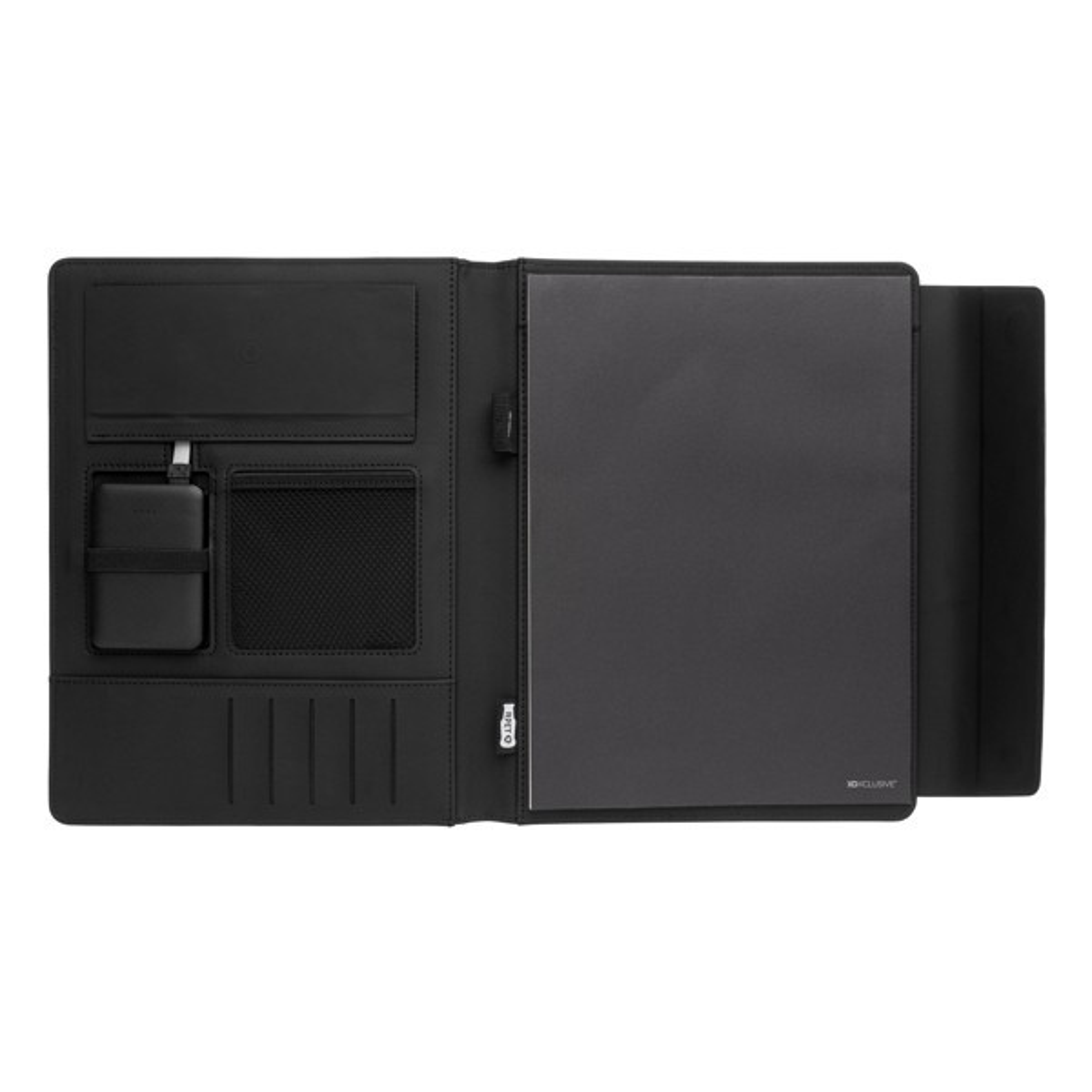 Fiko A4 portfolio met draadloos opladen& 5.000 mAh powerbank, View 3