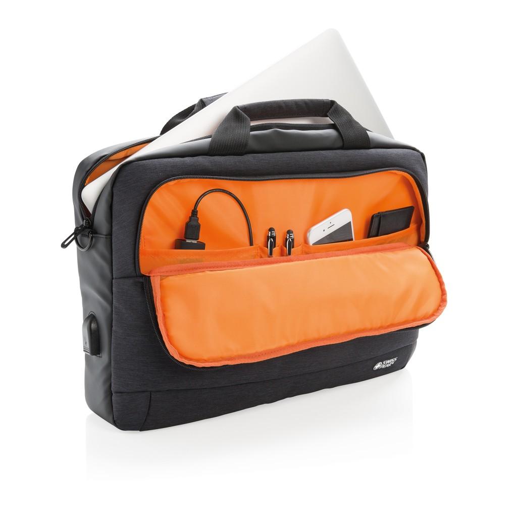 """Modern 15"""" laptop tas, View 2"""