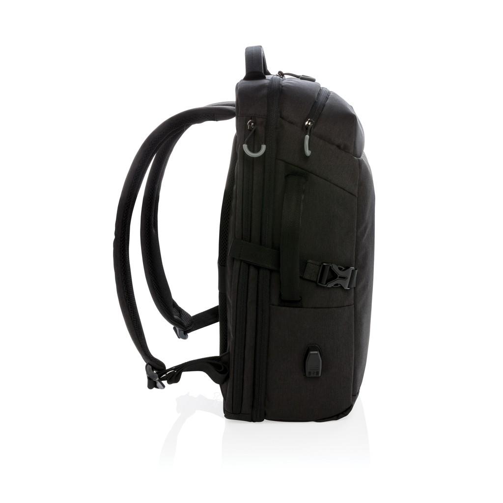 Swiss Peak XXL business & travel backpack met RFID en USB, View 6