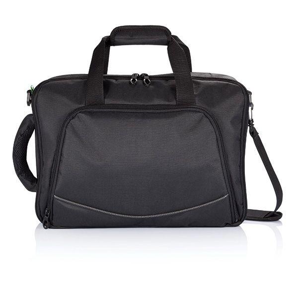 Florida laptop tas/rugtas, zwart, View 4