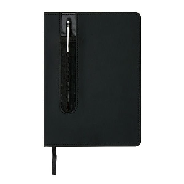 Deluxe A5 notitieboek met stylus pen, View 3