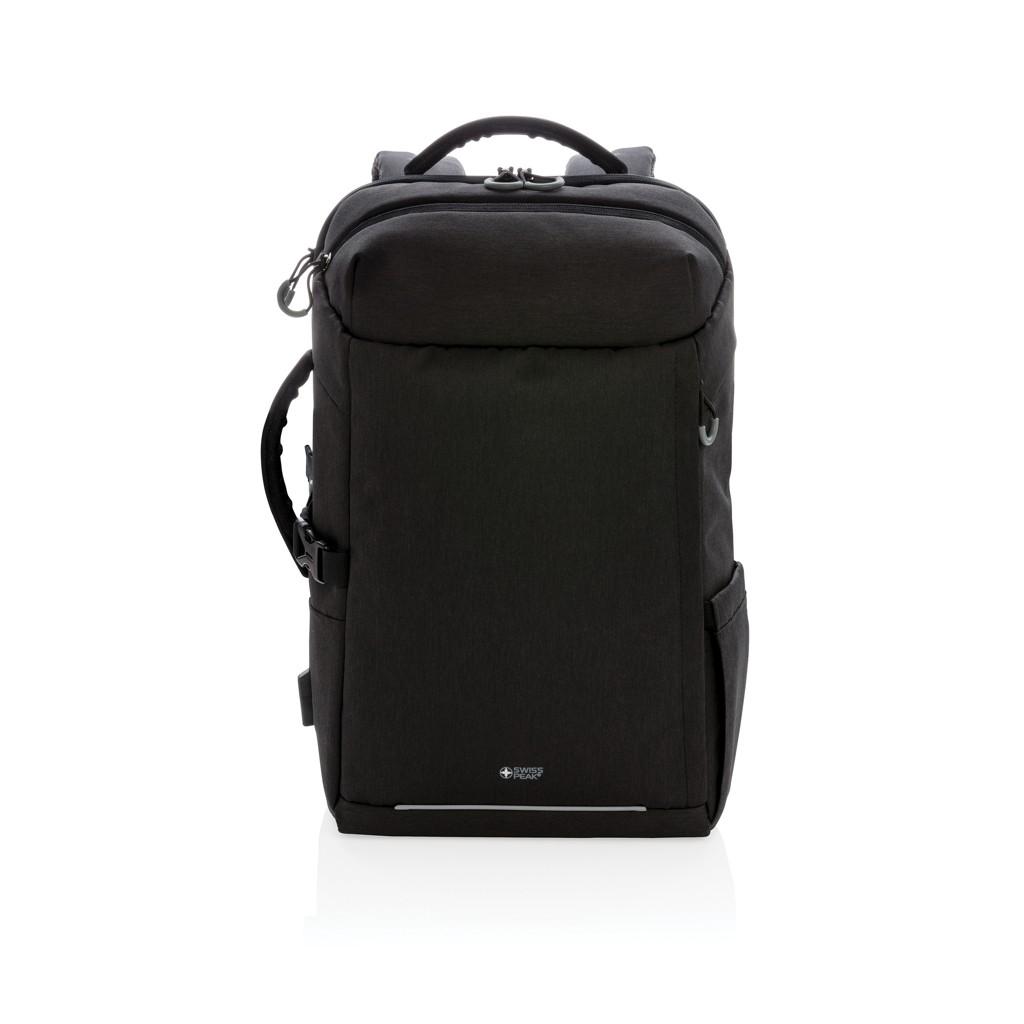 Swiss Peak XXL business & travel backpack met RFID en USB, View 2