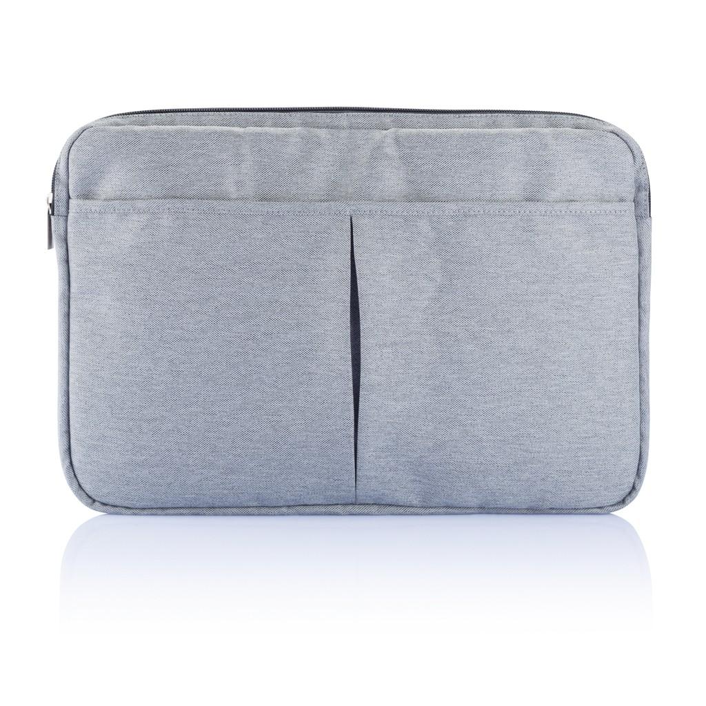 PVC vrije laptop hoes 15,4 grijs, View 6