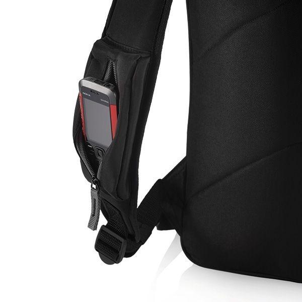 City laptop rugtas, zwart, View 2