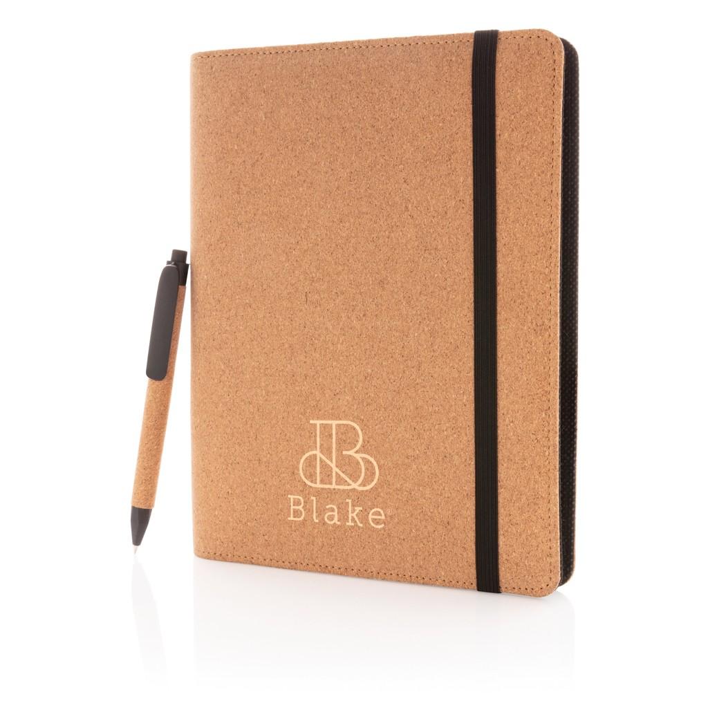 Deluxe kurken A5 portfolio met pen, View 8