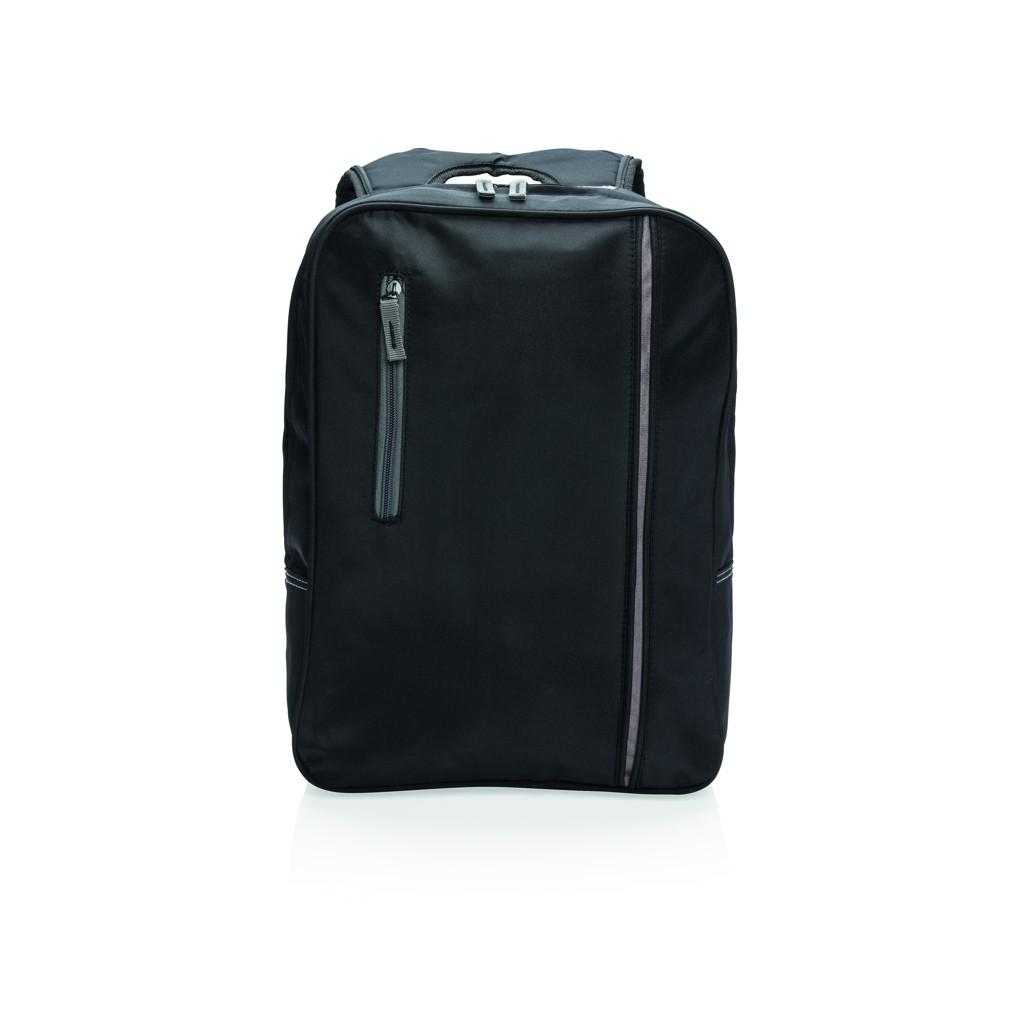 City laptop rugtas, zwart, View 3
