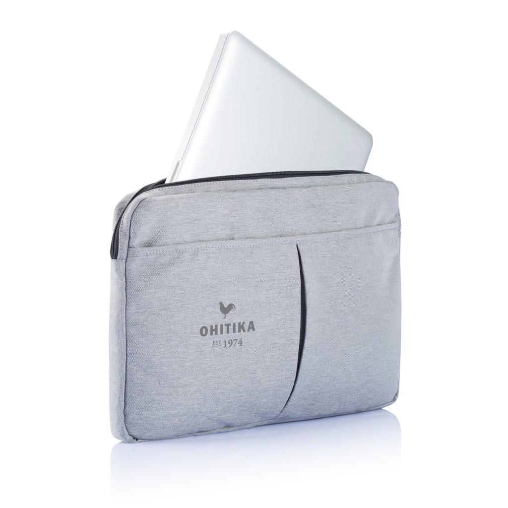 PVC vrije laptop hoes 15,4 grijs, View 8