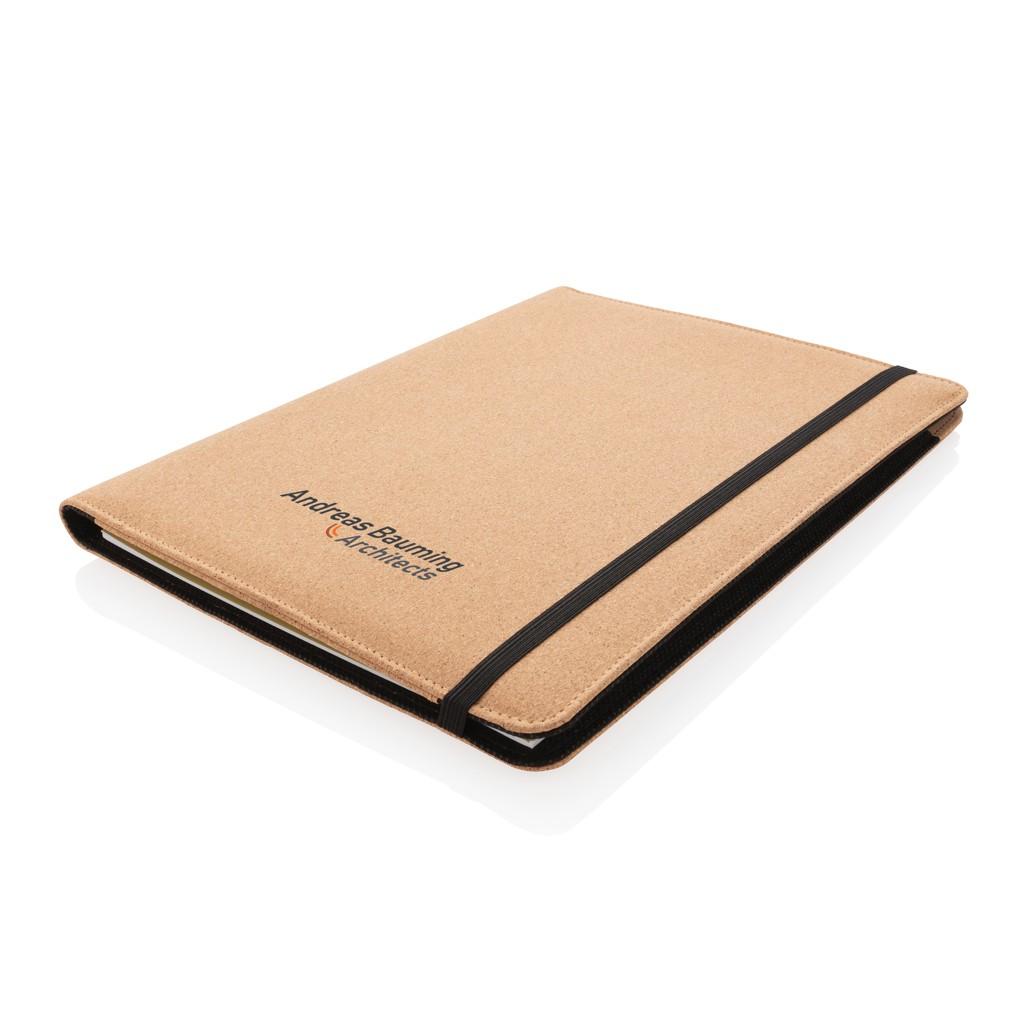 Deluxe kurken A4 portfolio met pen, View 8