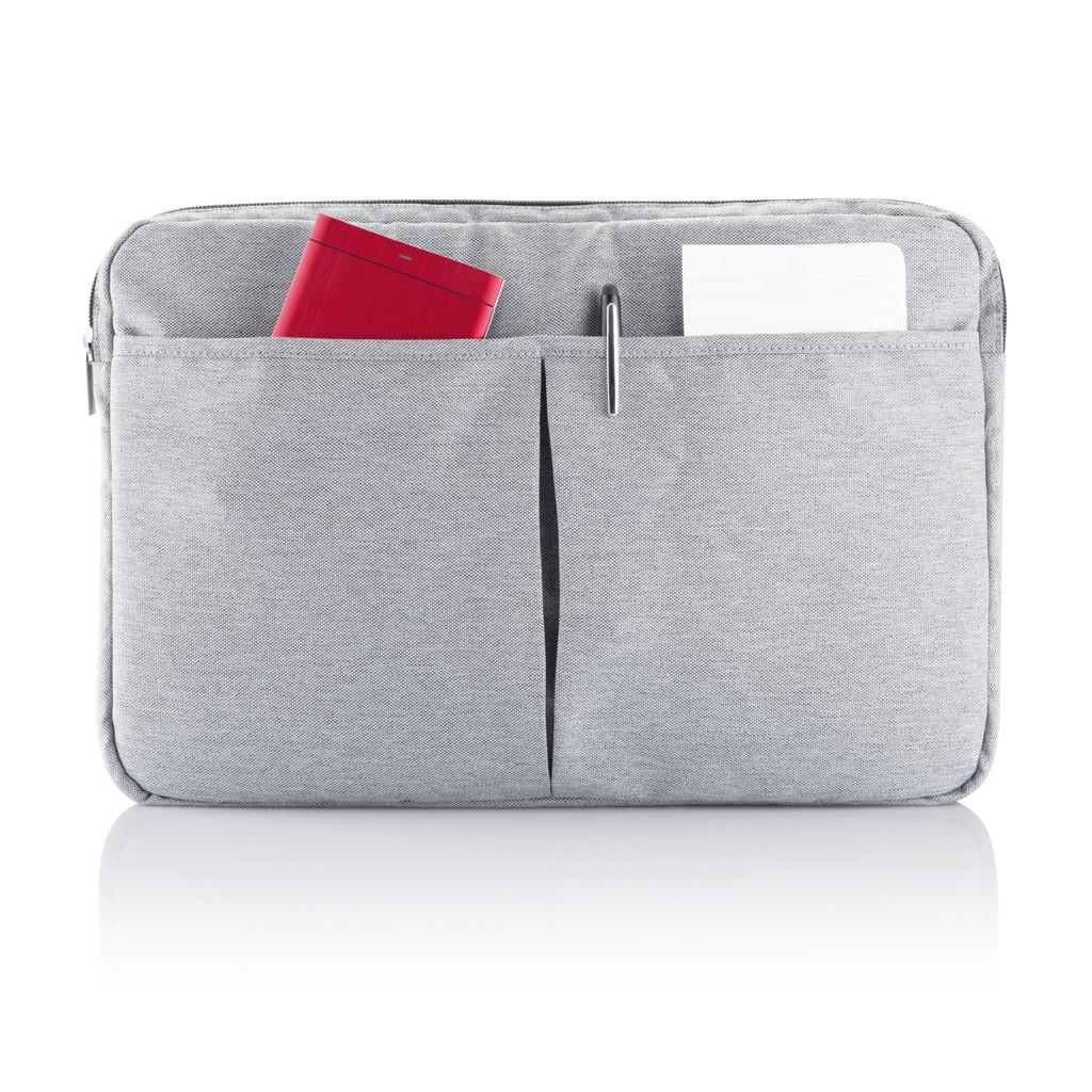 PVC vrije laptop hoes 15,4 grijs, View 7
