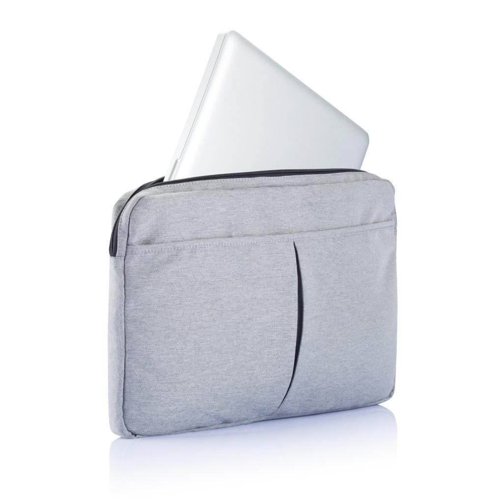 PVC vrije laptop hoes 15,4 grijs, View 5