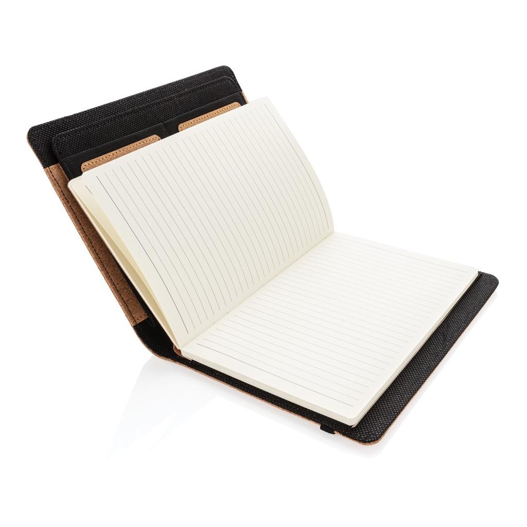 Deluxe kurken A5 portfolio met pen, View 5