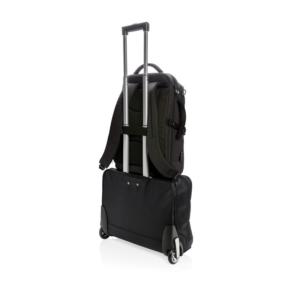 Swiss Peak XXL business & travel backpack met RFID en USB, View 8
