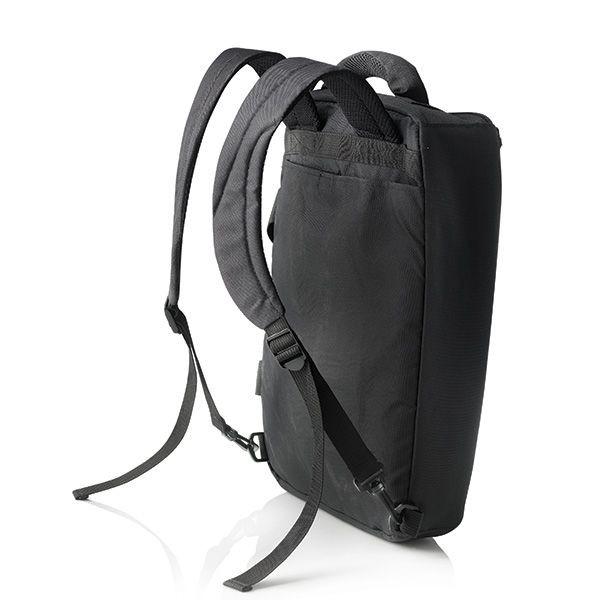 Florida laptop tas/rugtas, zwart, View 3