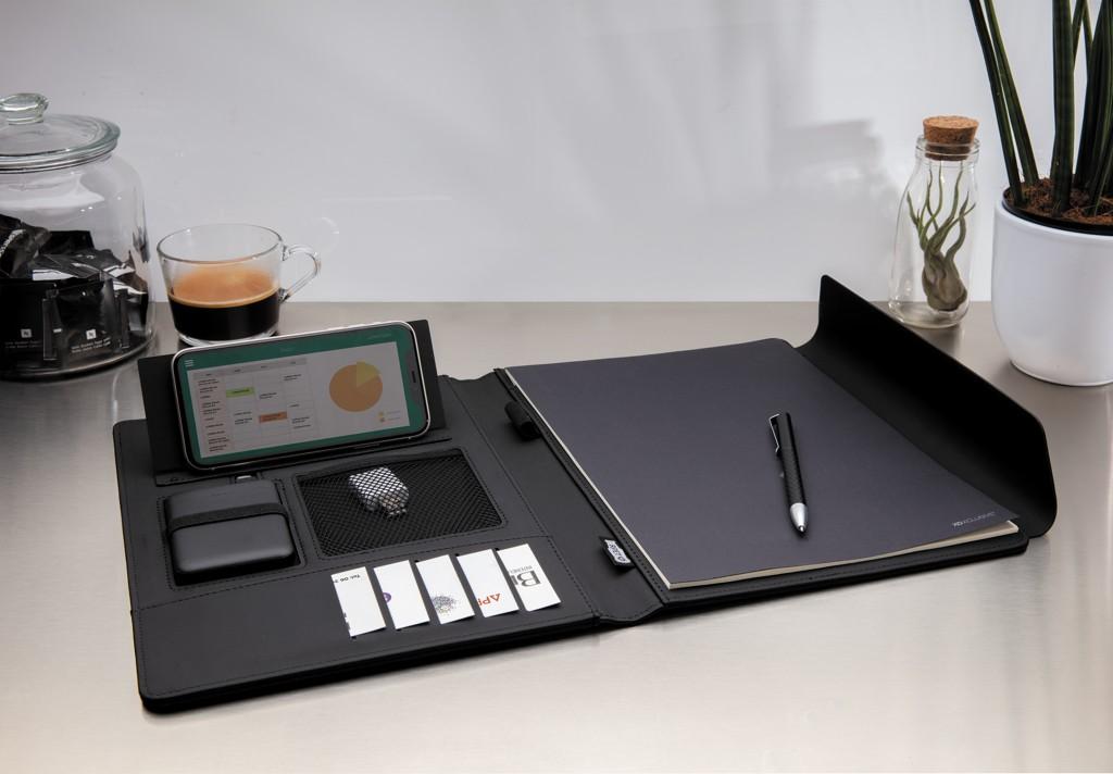 Fiko A4 portfolio met draadloos opladen& 5.000 mAh powerbank, View 10