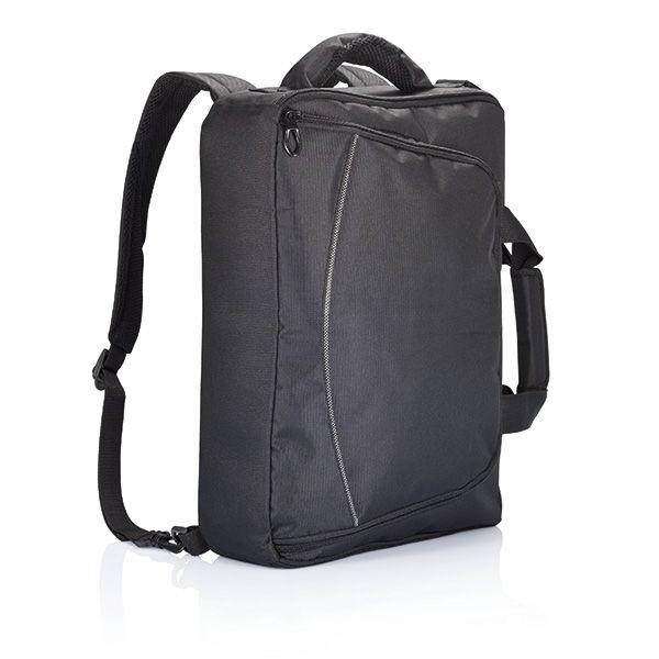 Florida laptop tas/rugtas, zwart, View 2