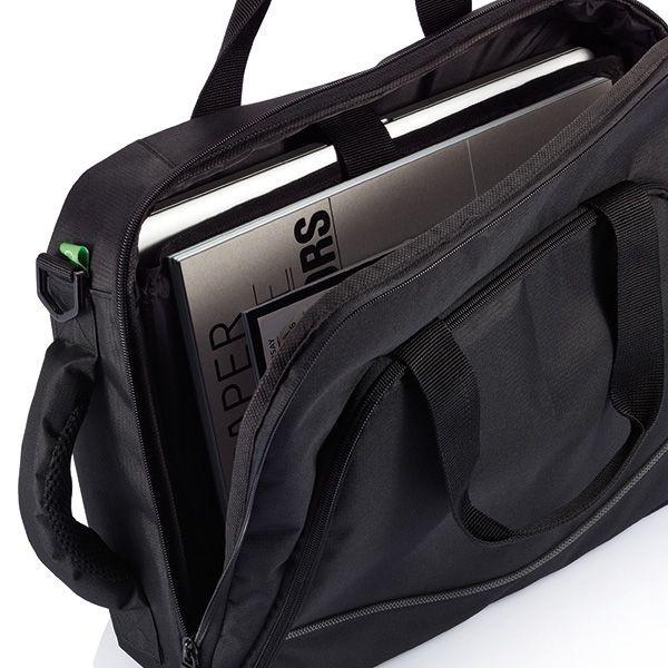 Florida laptop tas/rugtas, zwart, View 7