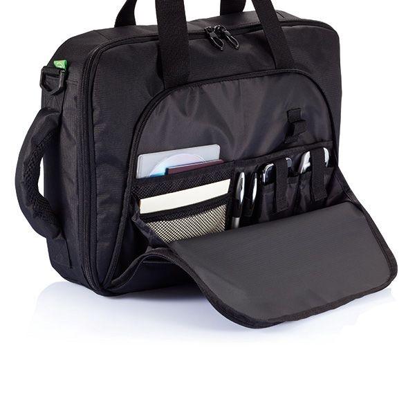 Florida laptop tas/rugtas, zwart, View 6