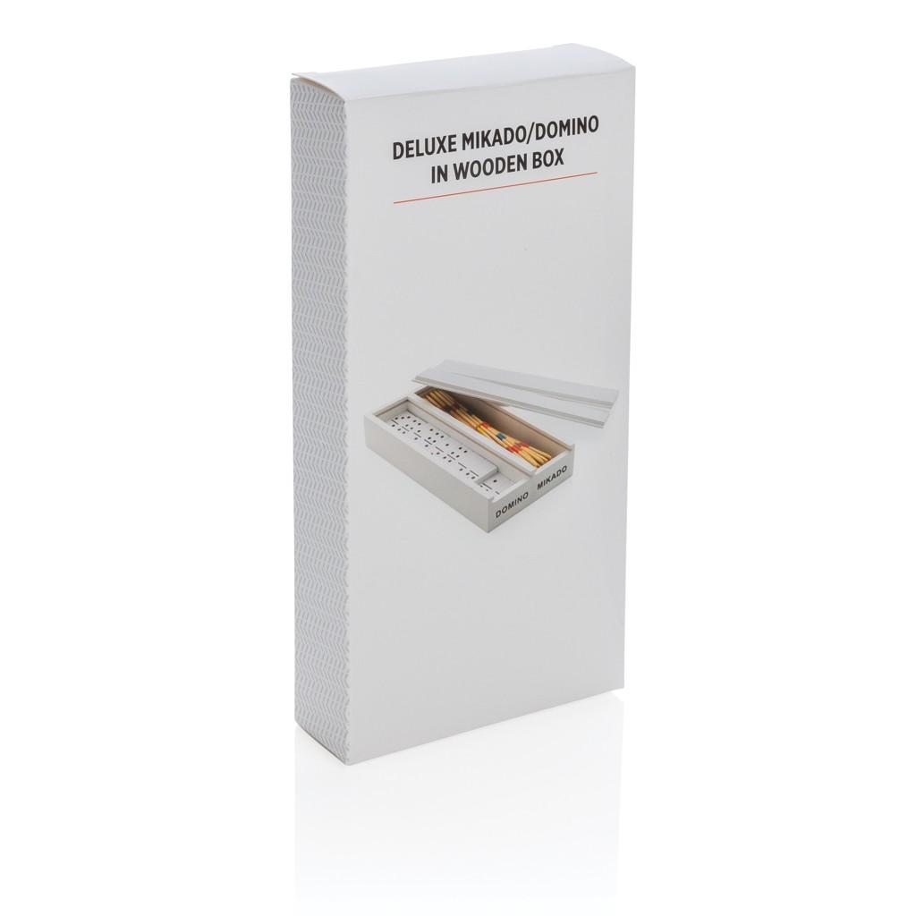 Deluxe mikado/domino in houten doos, View 5