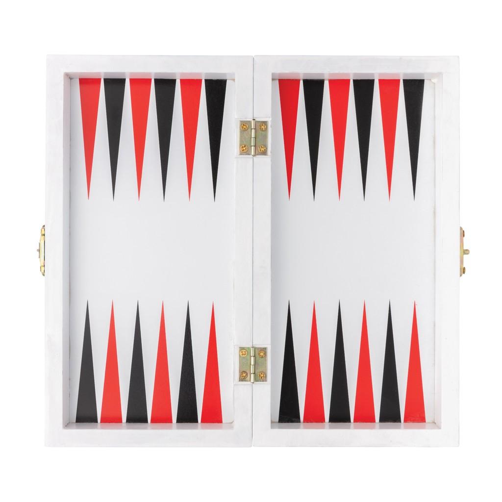 Luxe 3-in-1 bordspel in houten doos, View 2