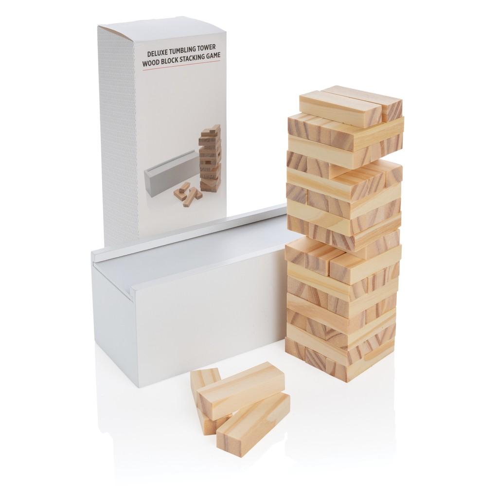 Deluxe houtblok stapelspel, View 5