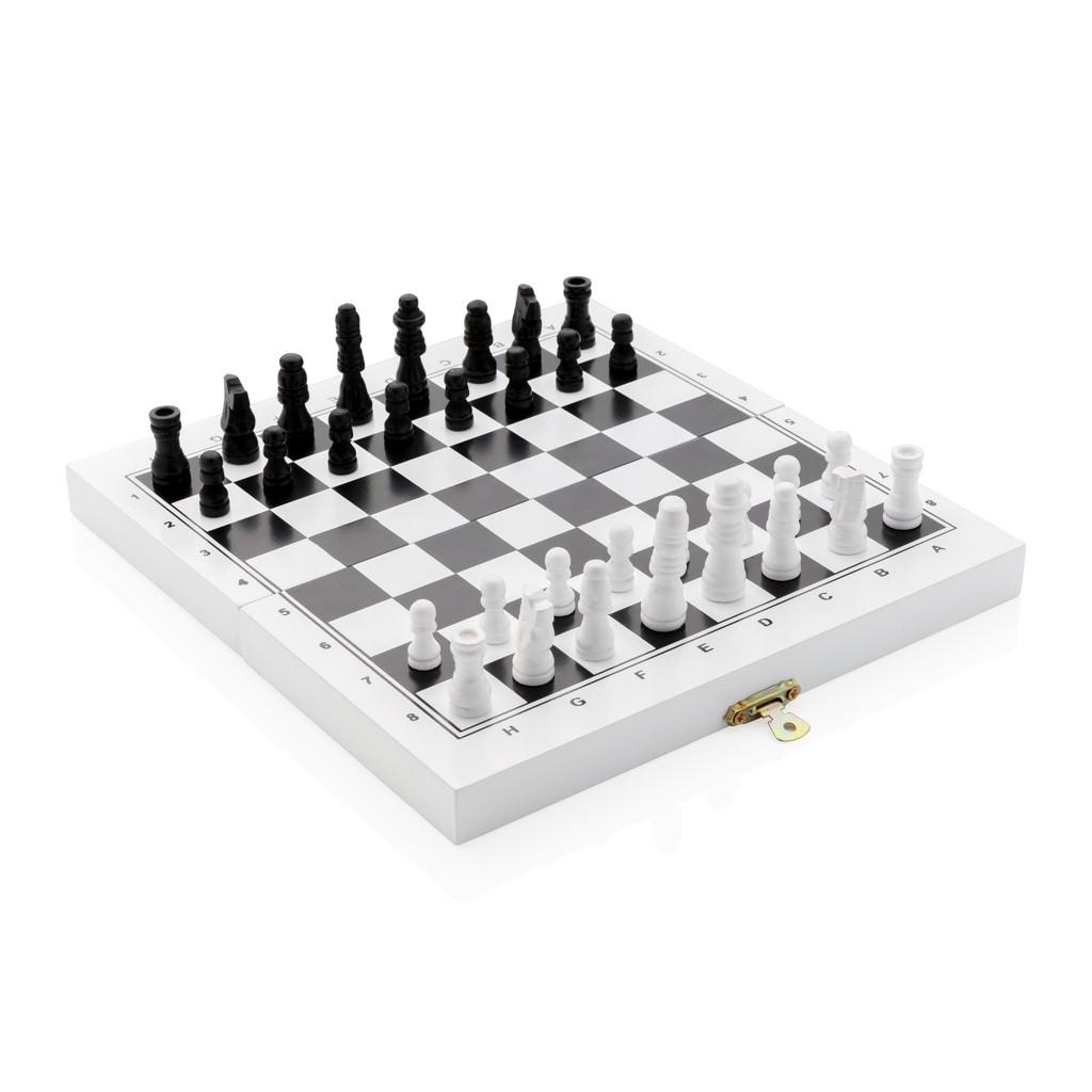 Luxe 3-in-1 bordspel in houten doos, View 4