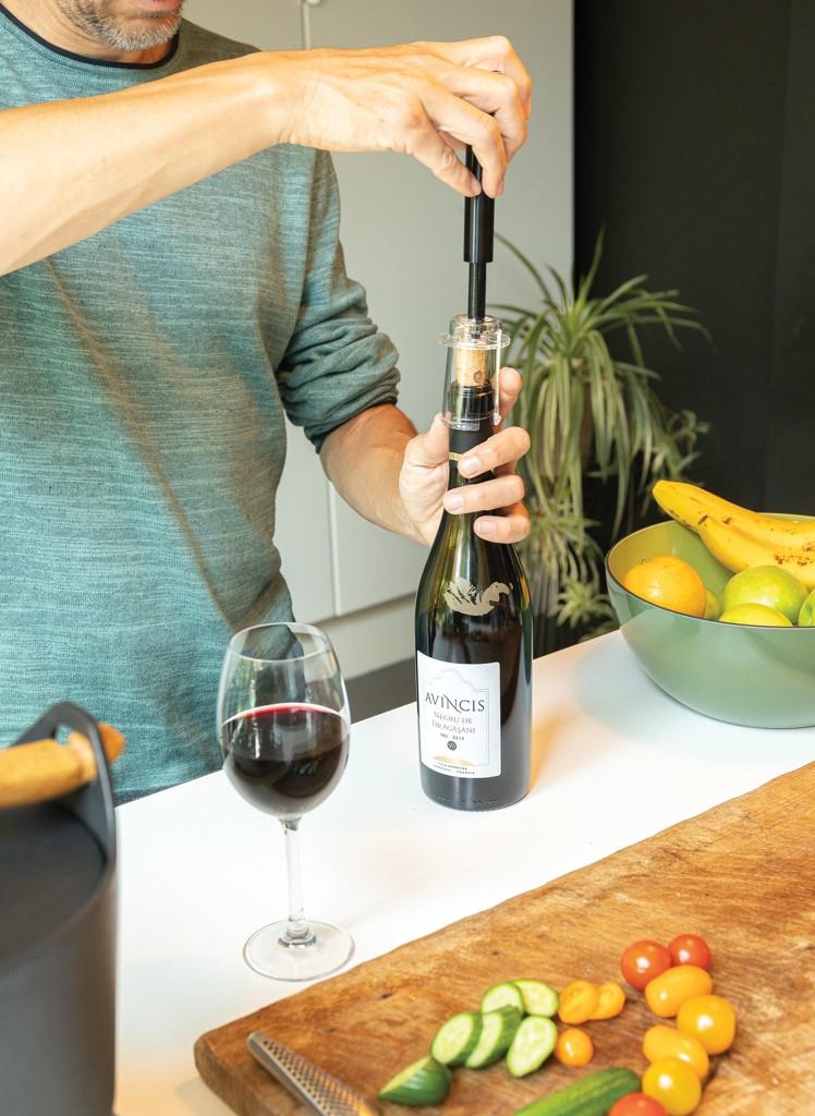 Vino Deluxe metalen luchtpomp wijnopener, View 9