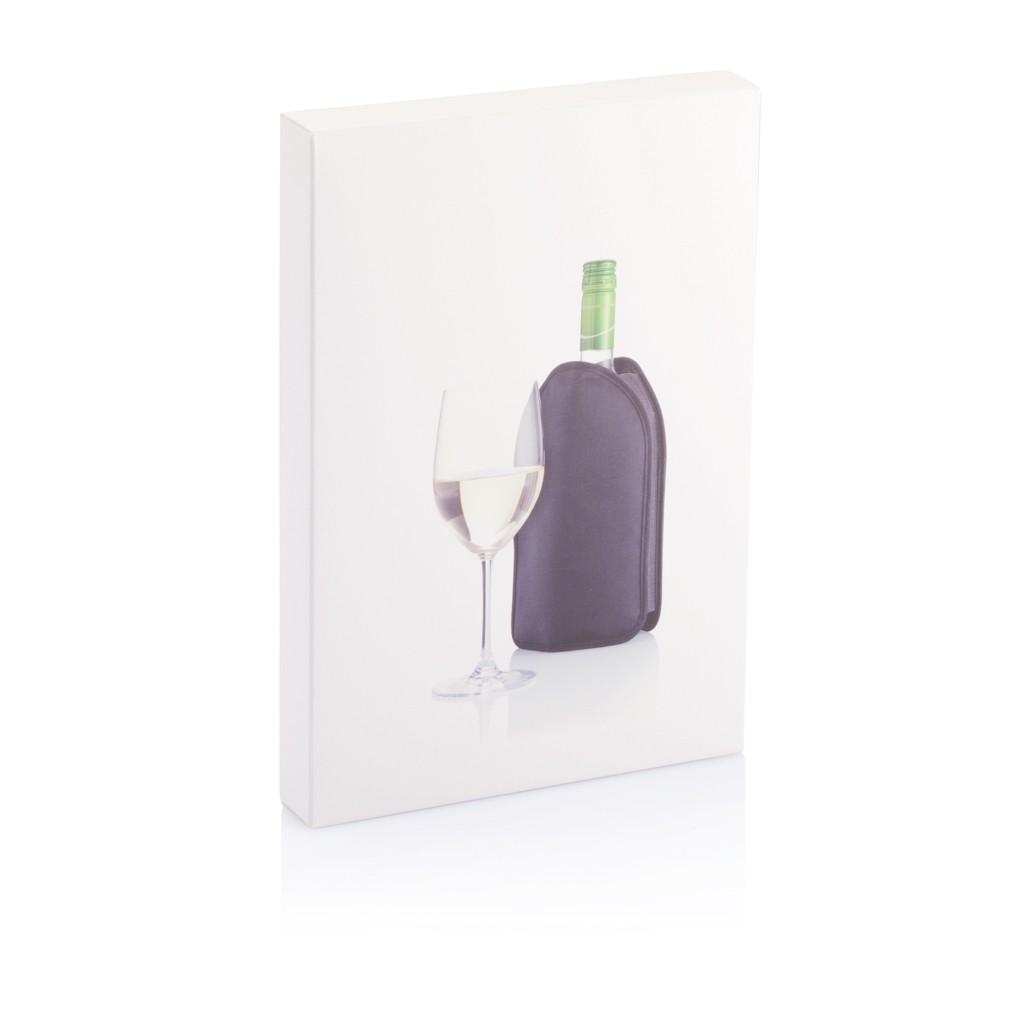 Wijnkoeler hoes, zwart, View 2