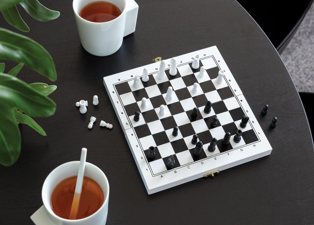 Luxe 3-in-1 bordspel in houten doos, View 9