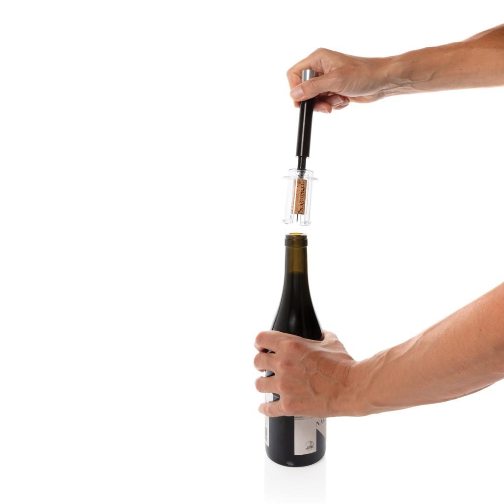 Vino Deluxe metalen luchtpomp wijnopener, View 5