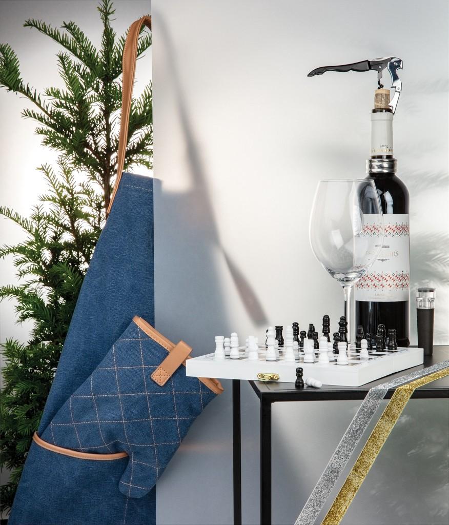 Luxe 3-in-1 bordspel in houten doos, View 11