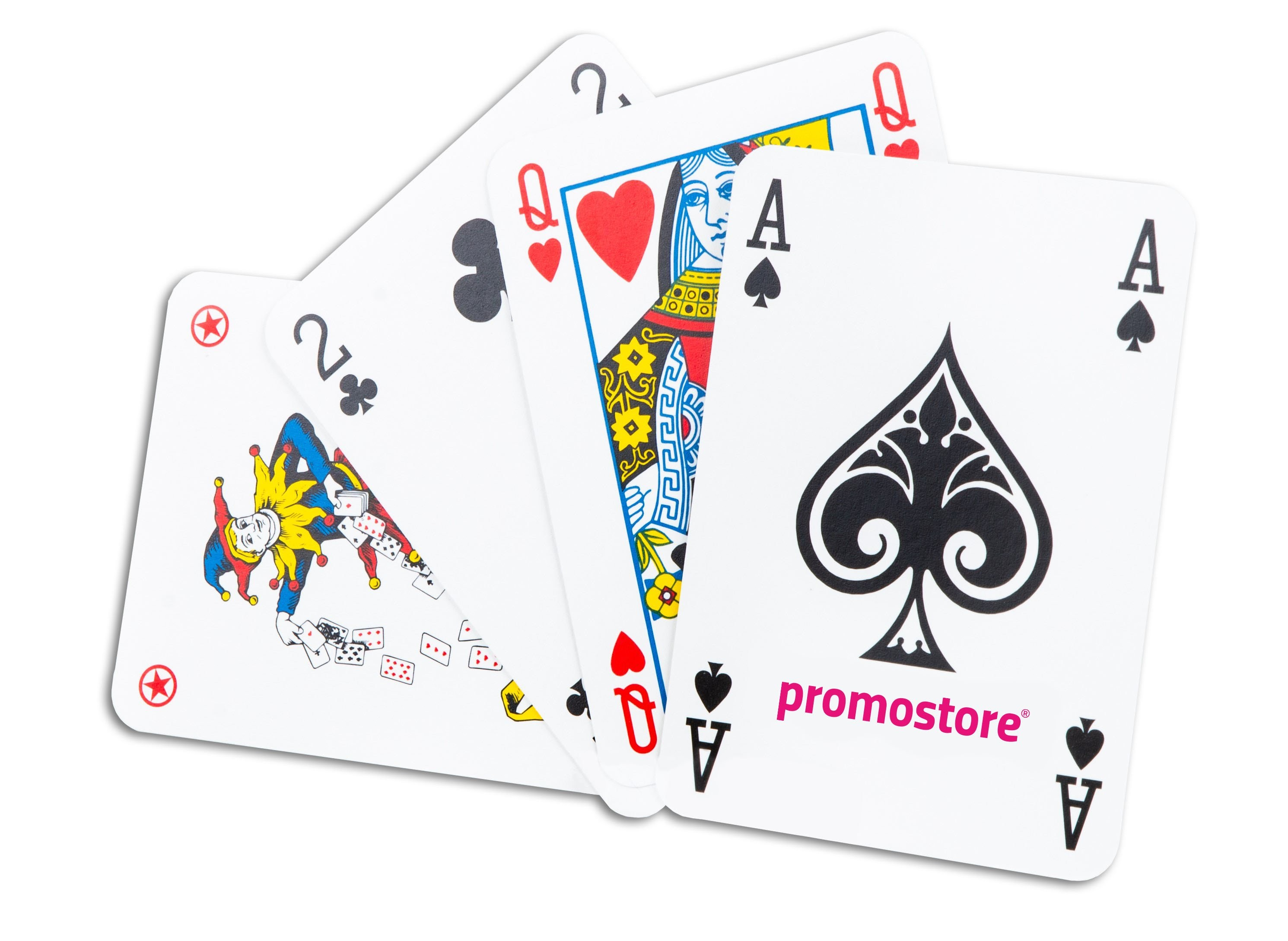 Pokerkaarten cellofaan (Superluxe), View 5
