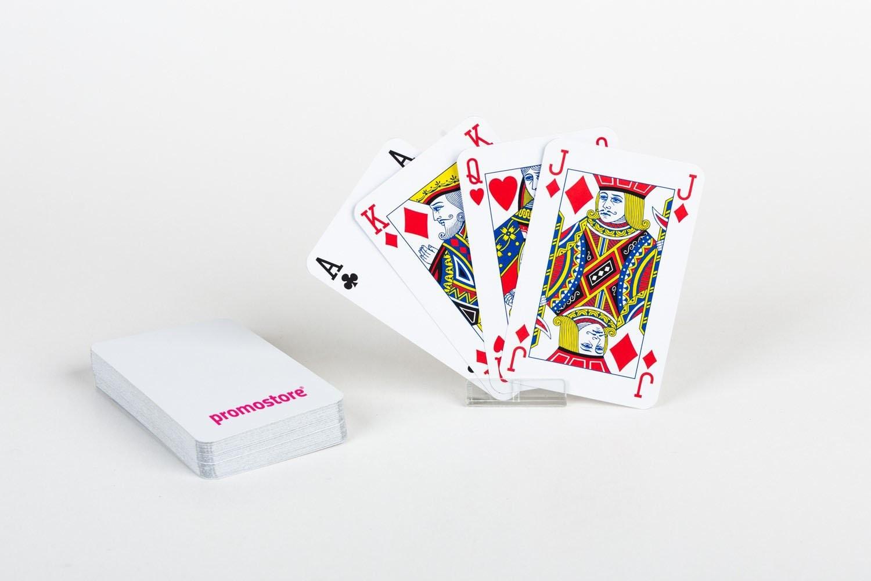 Pokerkaarten cellofaan (Corona)