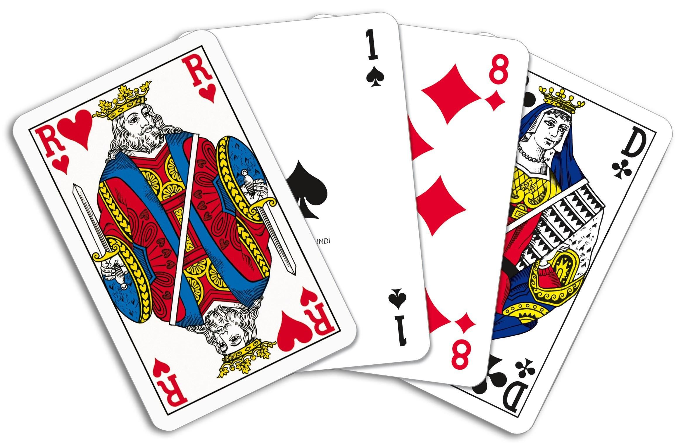 Pokerkaarten cellofaan (Superluxe), View 2