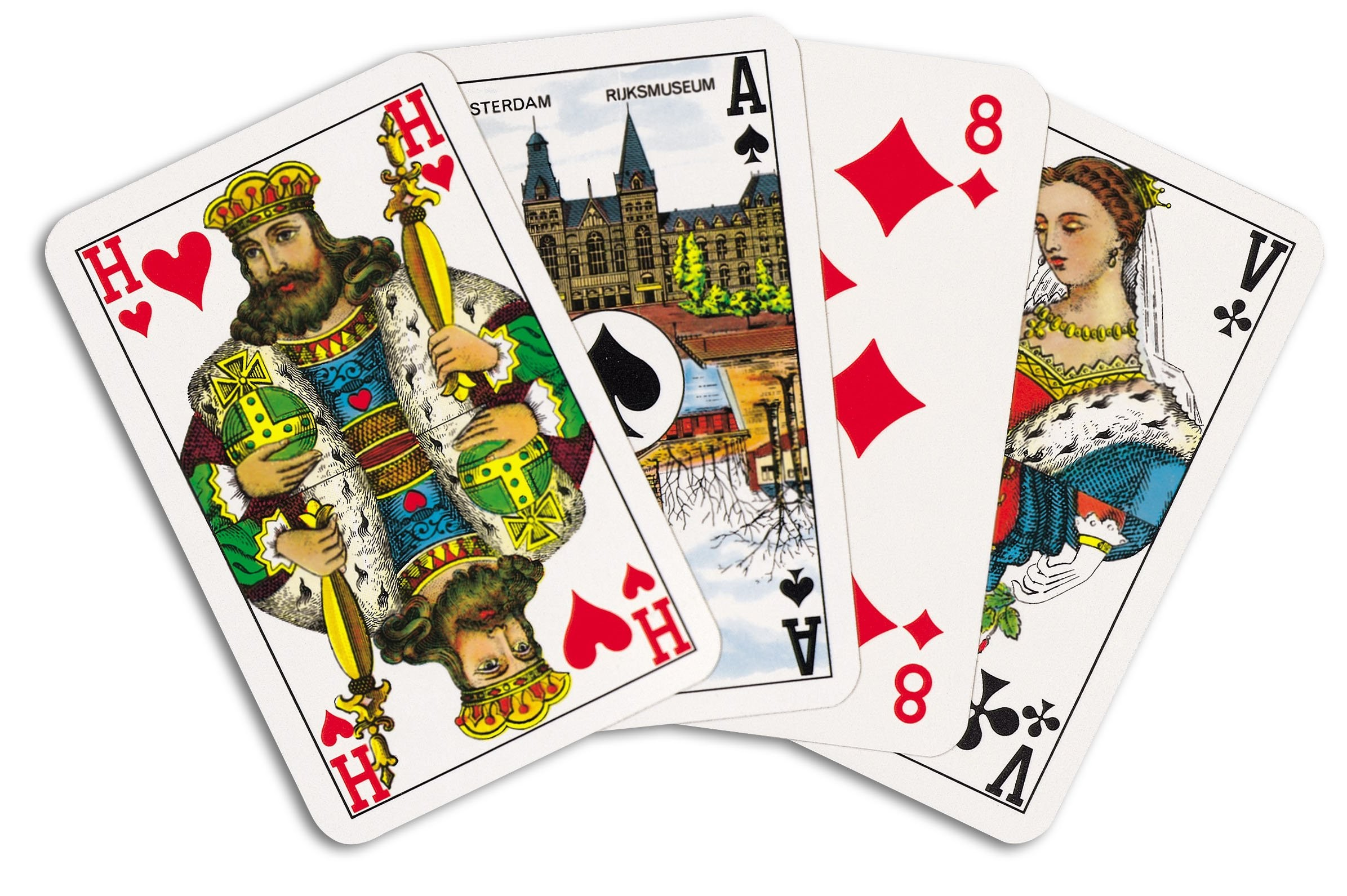 Pokerkaarten cellofaan (Superluxe), View 4